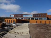 Nieuwbouw Noorderpoort College te Stadskanaal