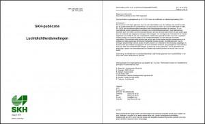 Publicatie 13-01 Luchtdichtheidsmetingen
